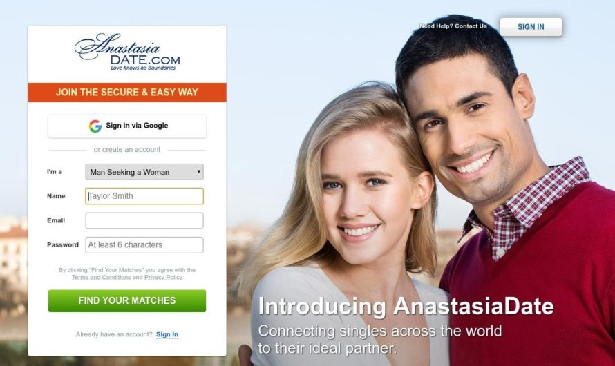 Anastasia Date Dating Service