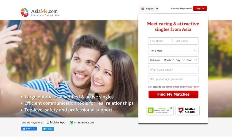 Asia Me Dating Service