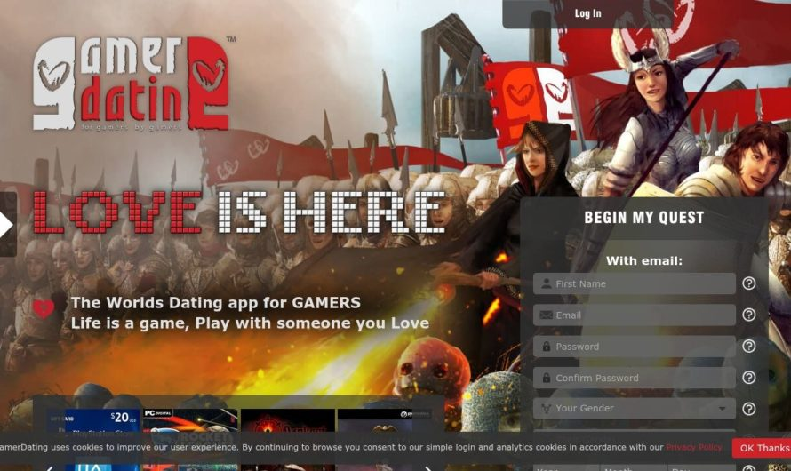 Gamer Dating Dating Service