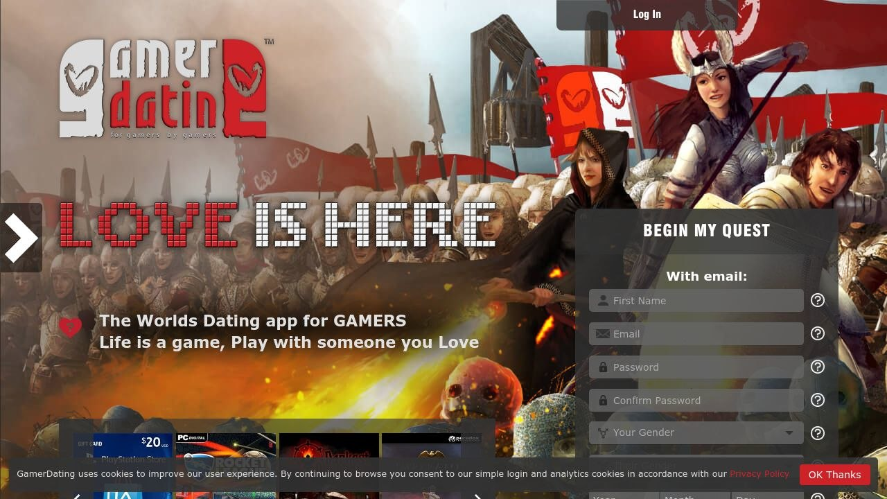 Gamer Dating Dating Service Post Thumbnail